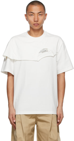 Feng Chen Wang White 2-In-1 T-Shirt