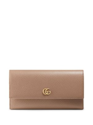Gucci GG Marmont continental wallet - Pink