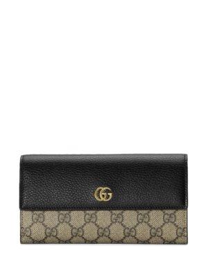 Gucci GG Marmont wallet case - Neutrals