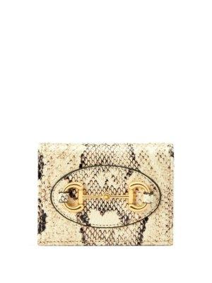 Gucci Gucci Horsebit 1955 wallet - White