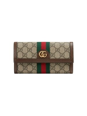 Gucci Ophidia GG continental wallet - Neutrals
