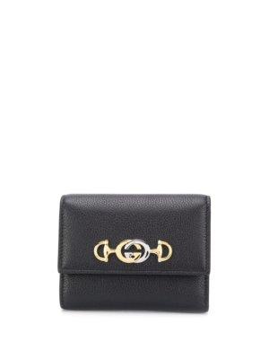Gucci Zumi compact wallet - Black