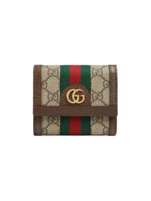 Gucci beige Ophidia GG wallet - Neutrals