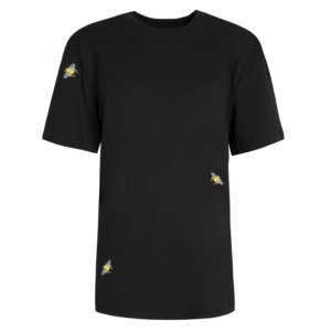 INGMARSON - Bee Embroidered T-Shirt Black Men