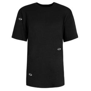 INGMARSON - Eyes Embroidered T-Shirt Black Men