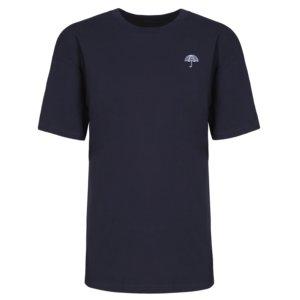 INGMARSON - Umbrella Embroidered T-Shirt Navy Men
