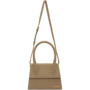 Jacquemus Beige Canvas Le Grand Chiquito Bag