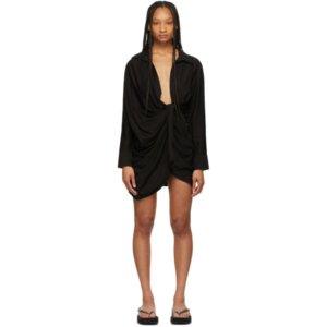 Jacquemus Black La Robe Bahia Dress