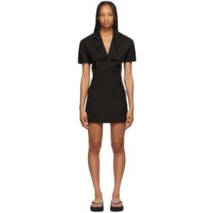 Jacquemus Black La Robe Gardian Dress