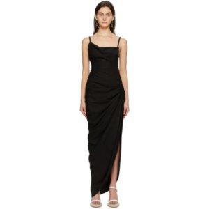 Jacquemus Black La Robe Saudade Longue Dress