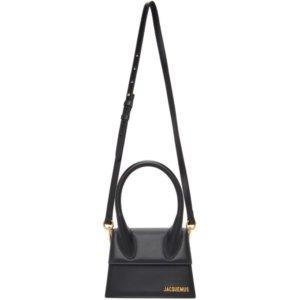 Jacquemus Black Le Chiquito Moyen Top Handle Bag