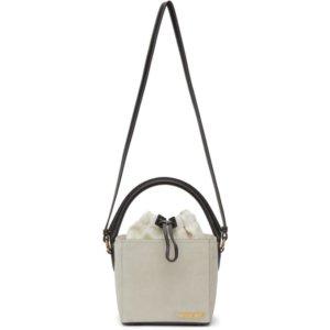 Jacquemus Off-White Le Seau Carre Bag
