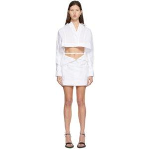 Jacquemus White La Robe Terraio Dress