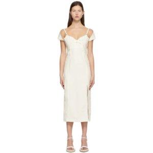 Jacquemus White La Robe Tovallo Dress