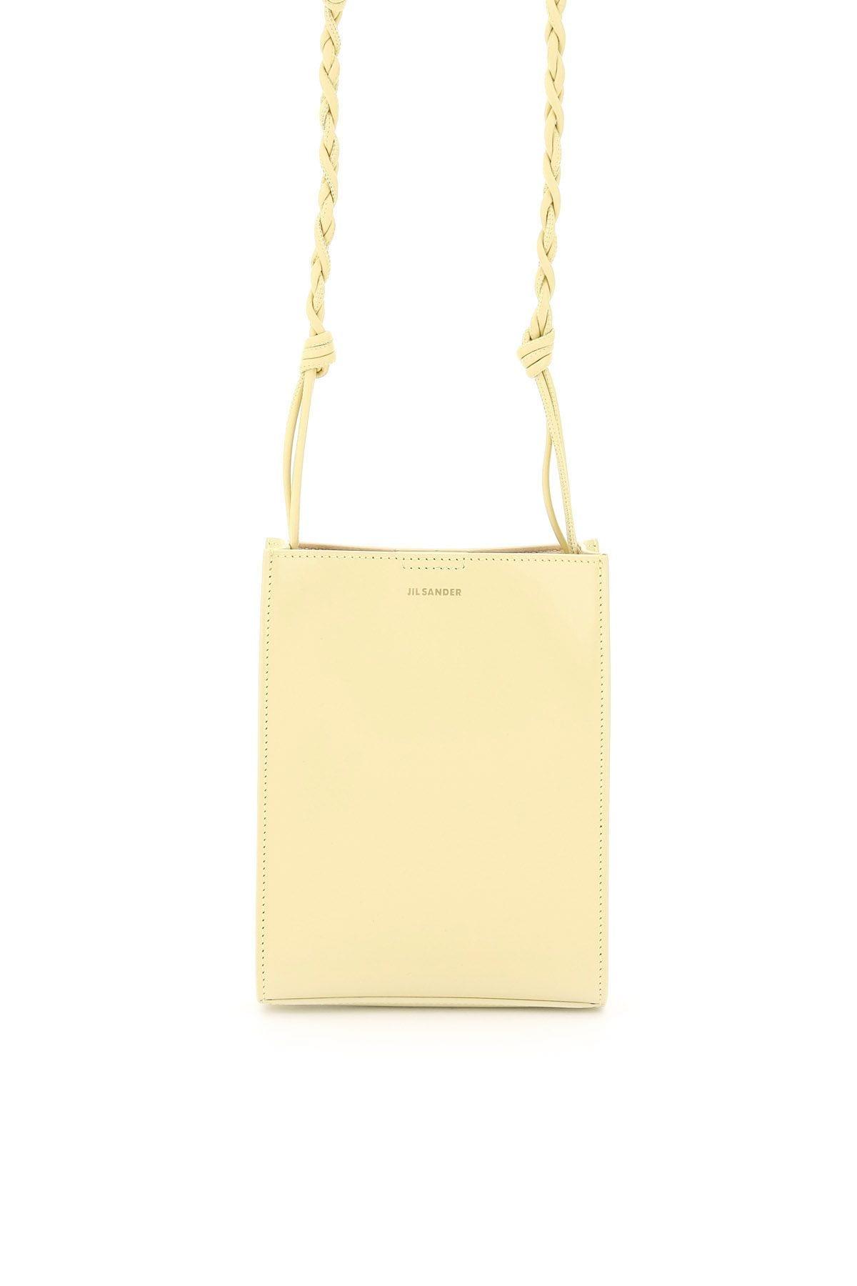 light yellow leader shoulder bag