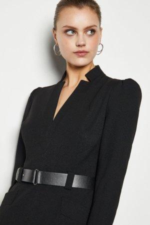 Karen Millen Forever Dress -, Black