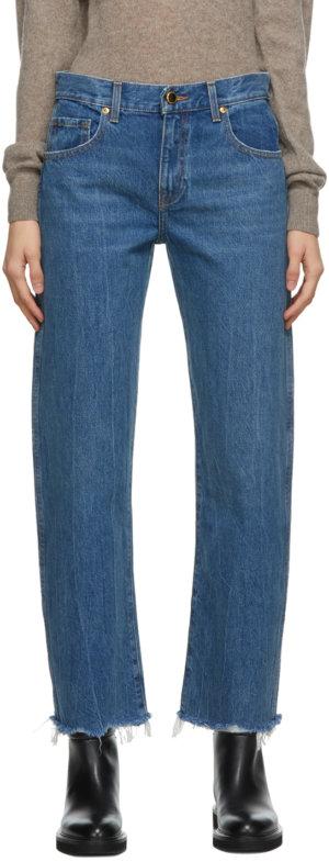 Khaite Blue Kerrie Jeans
