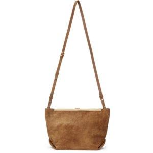 Khaite Tan The Augusta Crossbody Bag