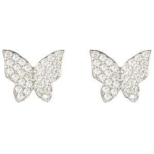 LATELITA - Butterfly Stud Earring Silver