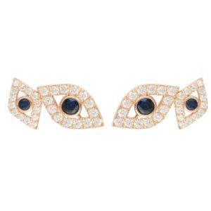 LATELITA - Eye Stud Earrings Rosegold