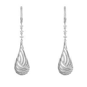 LATELITA - Glistening Dewdrop Earring Silver