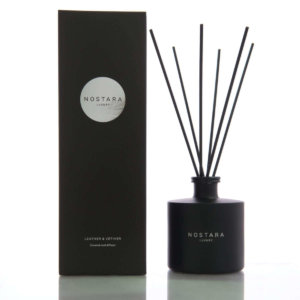 Leather & Vetiver Reed Diffuser