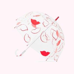 Lip Print Birdcage Umbrella