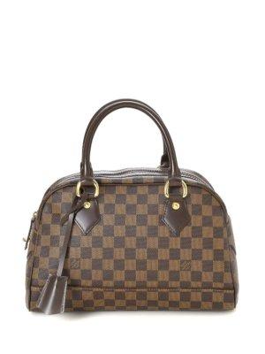 Louis Vuitton pre-owned Damier Ebène Duomo tote bag - Brown