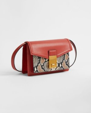 Luggage Lock Xbody Bag