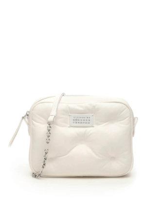 MAISON MARGIELA GLAM SLAM LEATHER CAMERA BAG OS White Leather