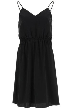 MM6 MAISON MARGIELA DRESS WITH ADJUSTABLE SHOULDER STRAPS 38 Black