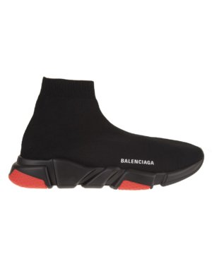 Man Black And Red Speed Sneakers