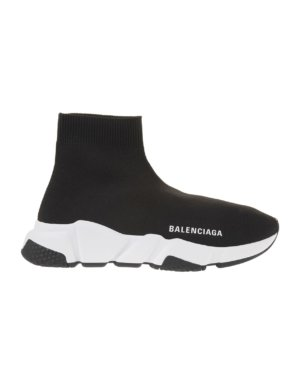 Man Black And White Speed Sneakers
