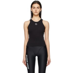 Marine Serre Black Moon Tank Top