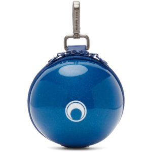 Marine Serre Blue Micro Ball Bag