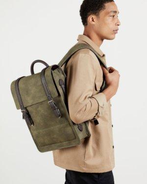 Nubuck Pu Backpack