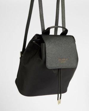 Nylon Drawstring Backpack