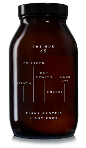 Plant Probiotic Protein - Organic Pea, Hemp + Brown Rice Protein - The Nue Co.