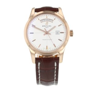 Pre-Owned Breitling Transocean Day-Date Mens Watch R45310
