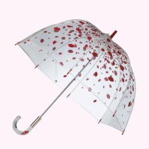 Raining Lips Birdcage Umbrella