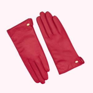 Raspberry Lip Pin M/L Samantha Glove
