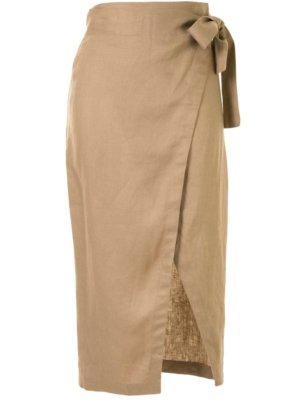 Reformation Florence skirt - Brown