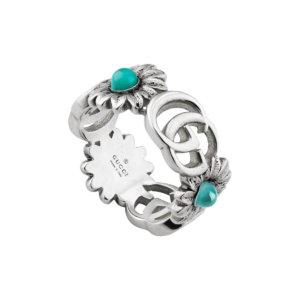 Running G Flower Ring - Ring Size J