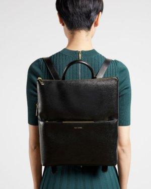 Saffiano Thin Backpack