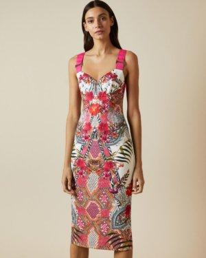 Samba Strappy Bodycon Dress