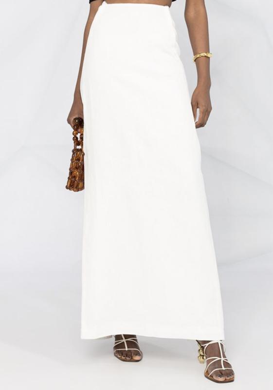 Jacquemus high-waisted maxi skirt