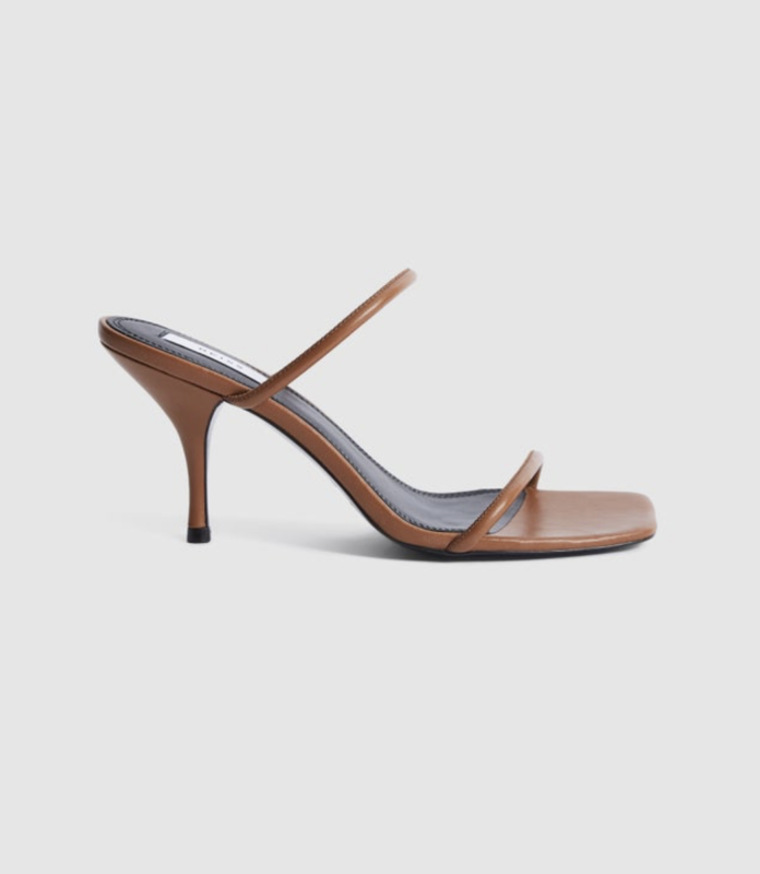 REISS Magda Tan Shoe