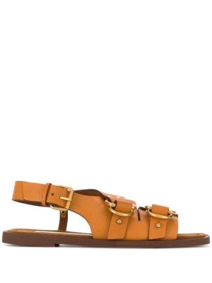 Stella McCartney D-ring buckled sandals - Neutrals