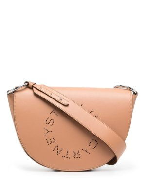 Stella McCartney Marlee logo shoulder bag - Brown