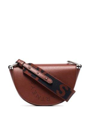 Stella McCartney Marlee logo shoulder bag - Red